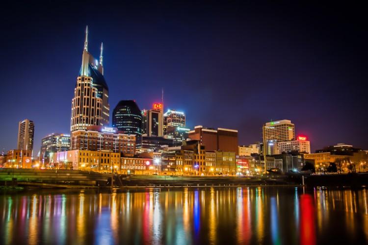 Nashville+Skyline+HDR