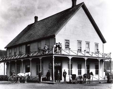 Courtenay Hotel circa 1905